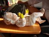 Niño inflable: proceso