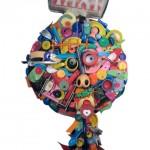 Plasticofagia. Esculturas de Pablo Gamboa