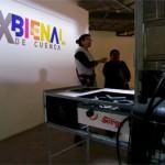 Así mira Doña Rosita Urgilés a la IX Bienal de Cuenca