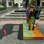 Intervención artística a los Toros de Colores
