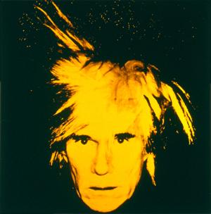 """""""Autoretrato"""", Andy Warhol, 1986"""