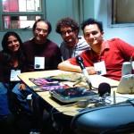 Antenas Intervenciones, Transistor #1 conversación con Juan Esteban Duque (Popular de Lujo), Antar Kuri (Harto Espacio), X. Andrade (Galeria Full Dollar).