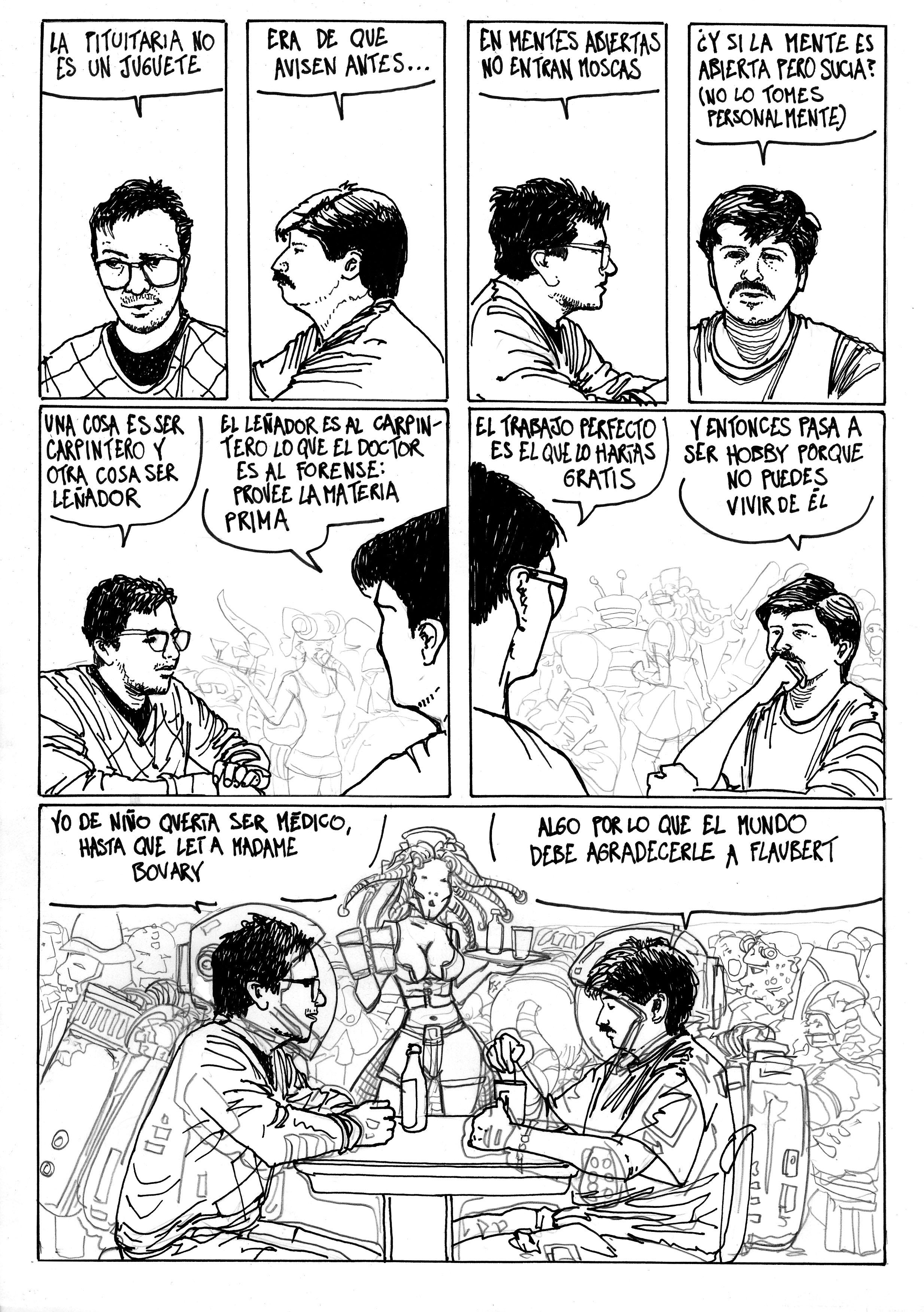 Comic: Fabián Patinho