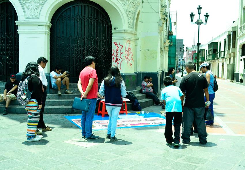 Lima (De) Ambulante, proyecto de C.H.O.L.O