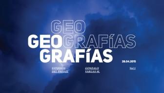 Geografías Vol.1 Estudios del paisaje de Gonzalo Vargas M.