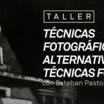 Taller de técnicas de impresión alternativas  a cargo de Esteban Pastorino