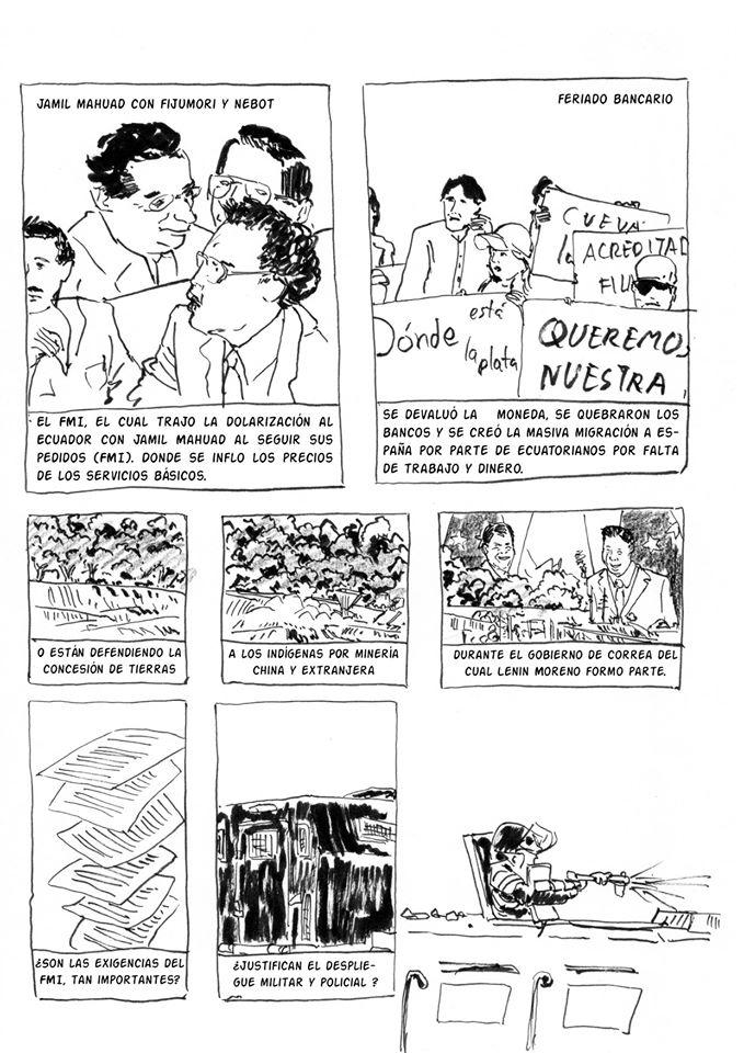 Comic de Diego Carvajal, calaveracomix