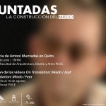 Muntadas conferencia en Quito
